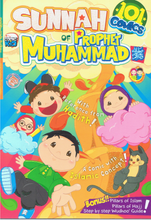 Load image into Gallery viewer, Edukid Publication-101 Comics Sunnah Of Prophet Muhammad-9789670618753-BukuDBP.com