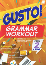 Load image into Gallery viewer, Gusto! Grammar Workout Form 2