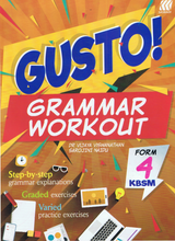 Load image into Gallery viewer, Sasbadi-Gusto! Grammar Workout Form 4-9789837704732-BukuDBP.com