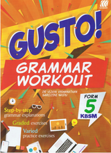 Load image into Gallery viewer, Sasbadi-Gusto! Grammar Workout Form 5-9789837704749-BukuDBP.com