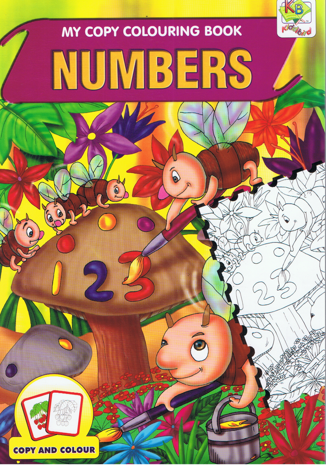 My Copy Colouring Book Numbers