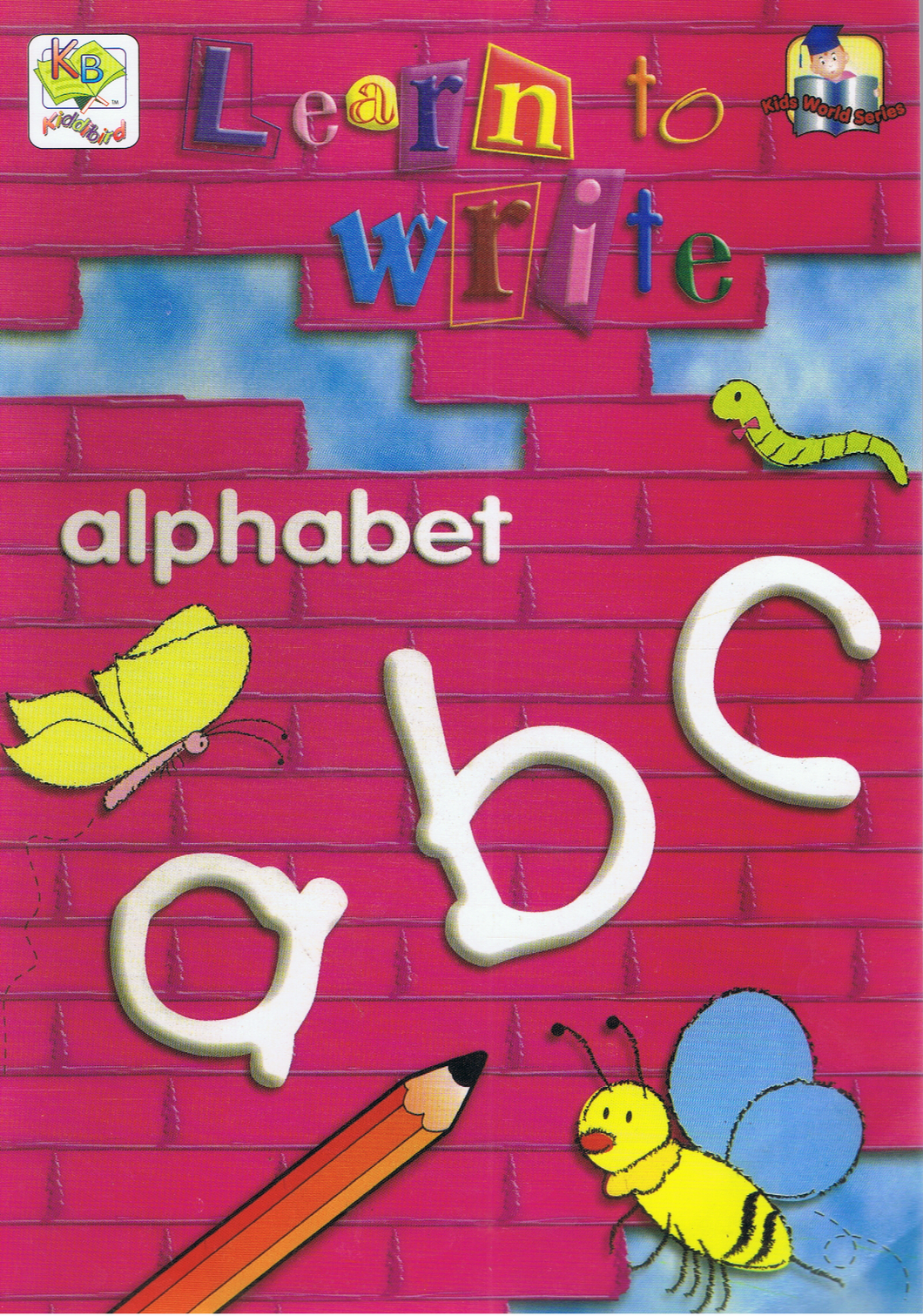 Learn To Write Alphabet abc