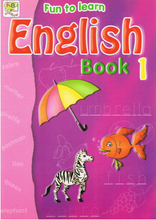 Load image into Gallery viewer, Fun To Learn English Book 1