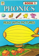 Load image into Gallery viewer, Phonics Read With Pictures Book 1