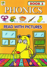 Load image into Gallery viewer, Phonics Read With Pictures Book 3