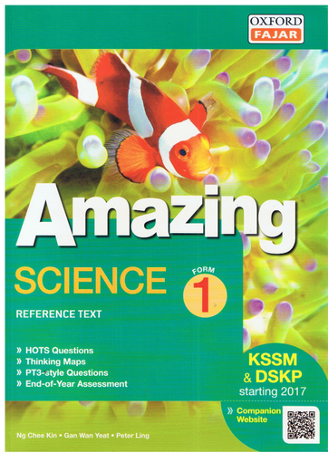 Amazing: Science Form 1
