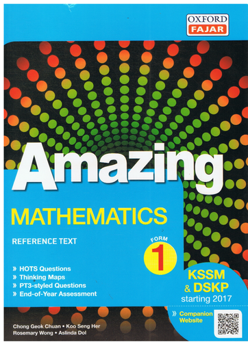 Amazing: Mathematics Form 1