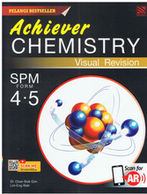 Load image into Gallery viewer, Achiever Chemistry Visual Revision SPM Form 4 & 5