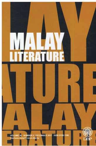 Malay Literature Volume 30 Number 2 December 2017