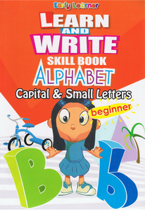 Learn And Write Skill Book Alphabet Capital & Small Letters