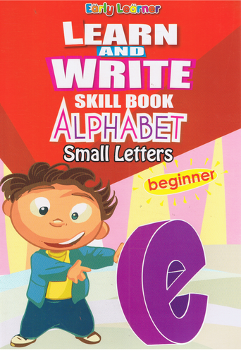 Learn And Write Skill Book Alphabet Small Letters