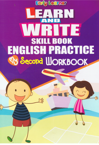 Learn And Write Skill Book English Practice My Second Workbook