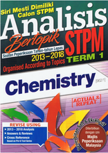 Load image into Gallery viewer, Analisis Bertopik STPM 2013-2018: Chemistry (Term 1)