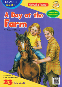 A Day At The Farm Level 1 Book 3