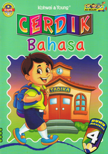 Load image into Gallery viewer, Cerdik Bahasa: Buku Aktiviti 4