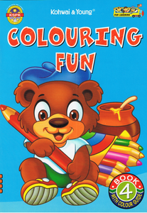 Colouring Fun Book 4