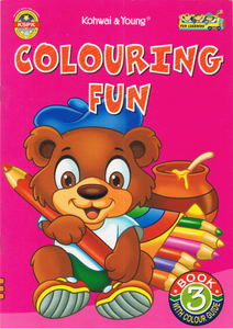 Colouring Fun Book 3