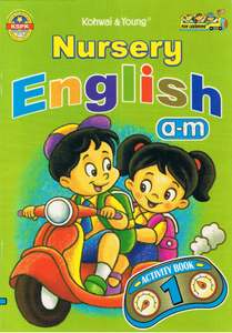Nursery English a-m Activity Book 1