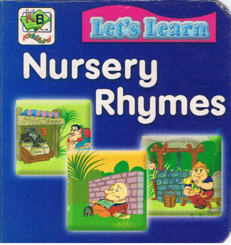 Let's Learn Nursery Rhymes (6.02 X 6.07cm)