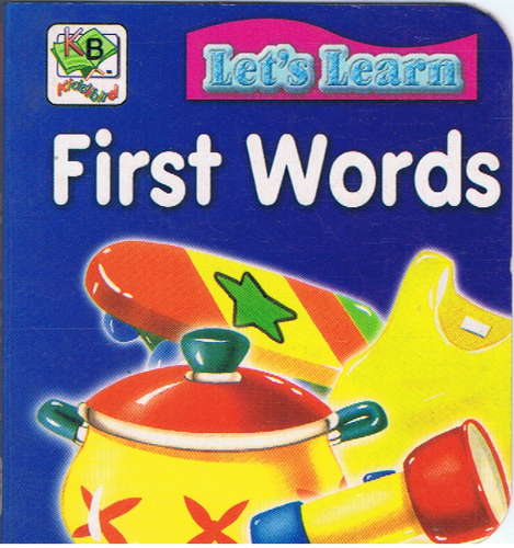 Let's Learn First Words (6.02 X 6.08cm)