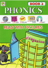 Load image into Gallery viewer, Phonics Read With Pictures Book 2