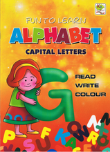 Load image into Gallery viewer, Fun To Learn Alphabet Capital Letters