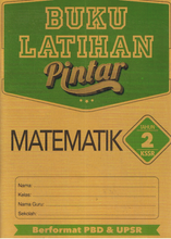 Load image into Gallery viewer, Buku Latihan Pintar : Matematik Tahun 2