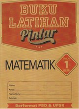 Load image into Gallery viewer, Buku Latihan Pintar : Matematik Tahun 1