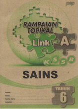 Load image into Gallery viewer, Rampaian Topikal Link A Sains Tahun 6