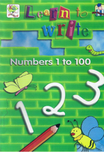 Load image into Gallery viewer, Learn To Write Numbers 1 to 100
