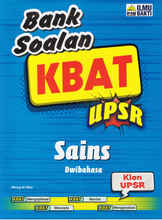 Load image into Gallery viewer, Bank Soalan KBAT UPSR Sains Dwibahasa