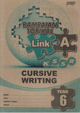 Load image into Gallery viewer, Rampaian Topikal Link A Cursive Writting Year 6