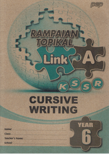 Rampaian Topikal Link A Cursive Writting Year 6