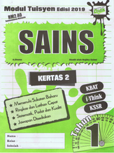 Load image into Gallery viewer, Modul Tuisyen Edisi 2019 Sains Kertas 2 Tahun 1