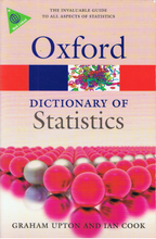 Load image into Gallery viewer, Oxford Dictionary Of Statistics