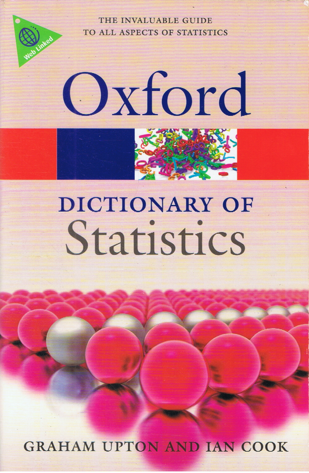 Oxford Dictionary Of Statistics