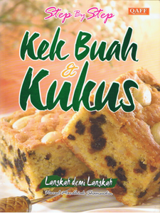 Step By Step Kek Buah & Kukus
