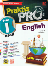 Load image into Gallery viewer, Praktis Pro English Year 1