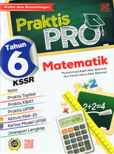 Load image into Gallery viewer, Praktis Pro Matematik Tahun 6