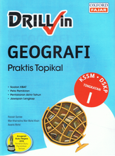 Load image into Gallery viewer, Drill In Geografi Praktis Topikal Tingkatan 1