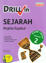 Load image into Gallery viewer, Drill In Sejarah Praktis Topikal Tingkatan 2