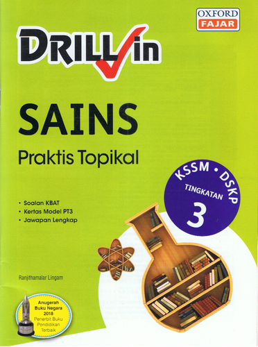 Drill In Sains Praktis Topikal Tingkatan 3