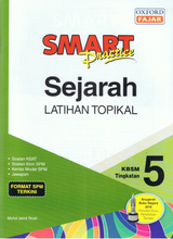 Load image into Gallery viewer, Smart Practice Sejarah Latihan Topikal Tingkatan 5