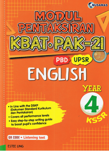 Modul Pentaksiran English Year 4