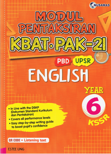 Modul Pentaksiran English Year 6