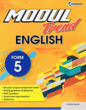 Load image into Gallery viewer, Modul Trend English Form 5