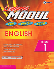 Load image into Gallery viewer, Lembaran Modul English Form 1