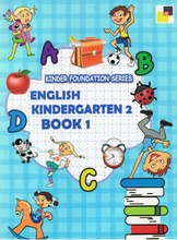 Load image into Gallery viewer, English Kindergarten 2 Book 1