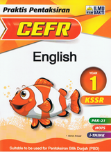 Load image into Gallery viewer, Praktis Pentaksiran CEFR English Year 1