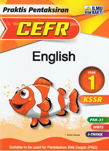 Praktis Pentaksiran CEFR English Year 1